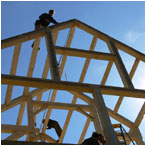 The Timber Frame Raising is a time honored tradition